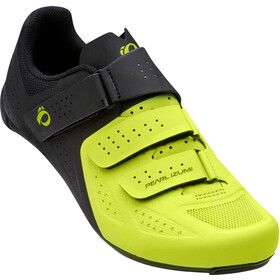 PEARL iZUMi Select Road V5 Shoes Herren black/lime